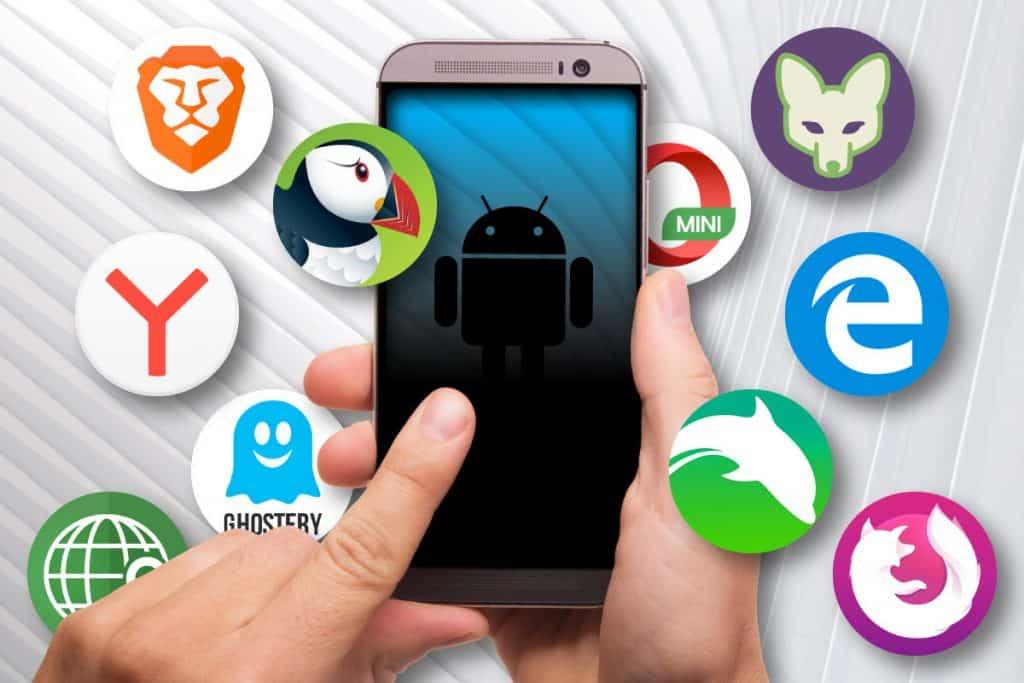 Como alterar o navegador padrão no Android