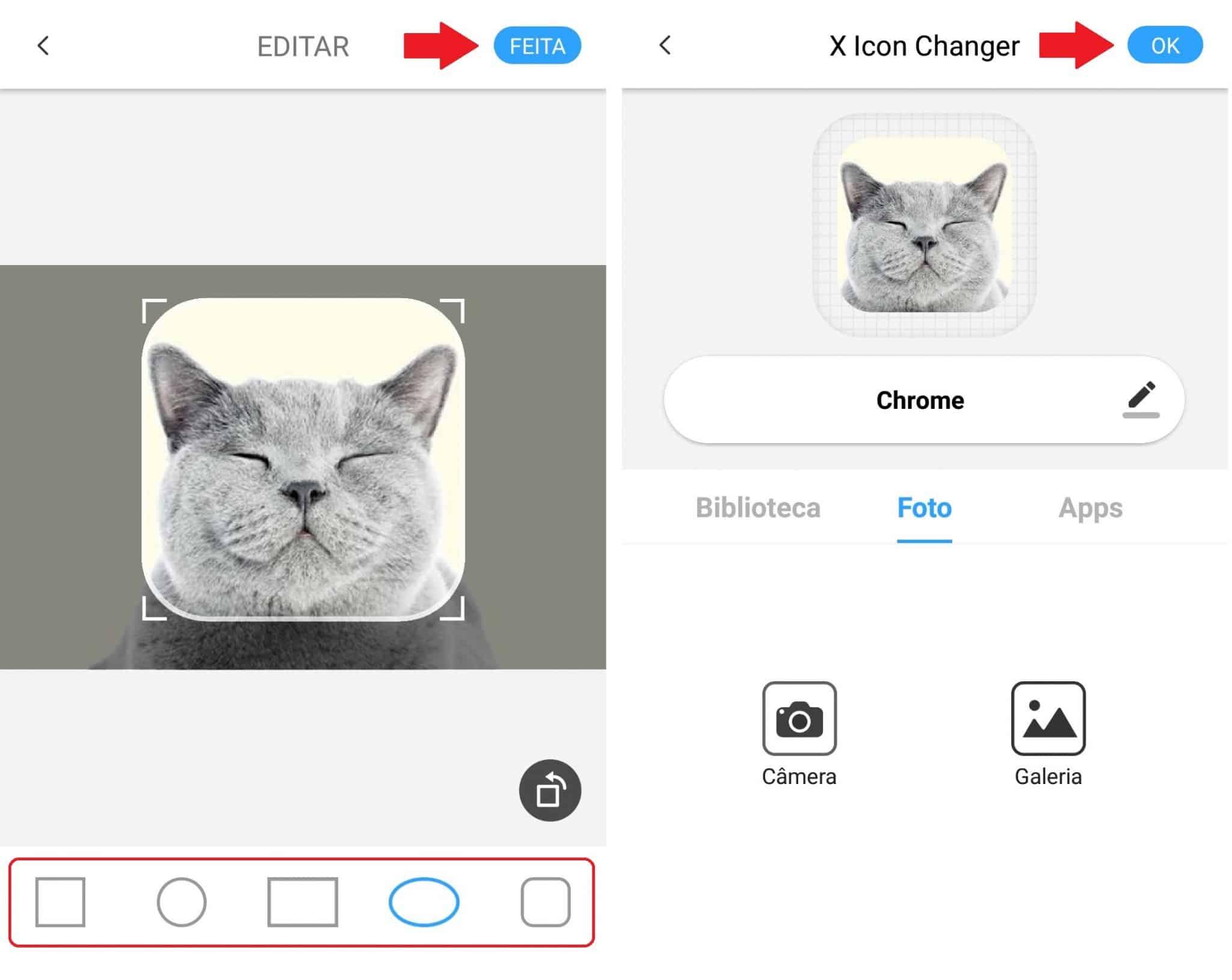 imagem 4 de Como criar ícones para aplicativos com as fotos salvas na galeria