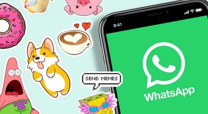 imagem 1 de WhatsApp libera nova busca de figurinhas na versão Beta