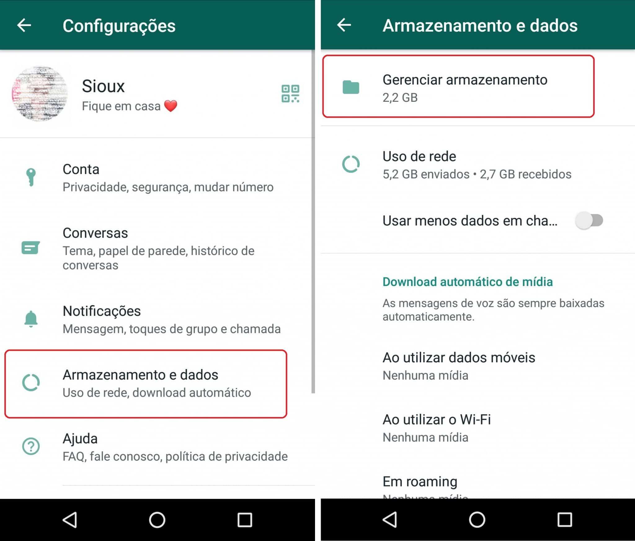 imagem 4 de WhatsApp melhora o gerenciamento de espaço saiba como funciona a nova ferramenta
