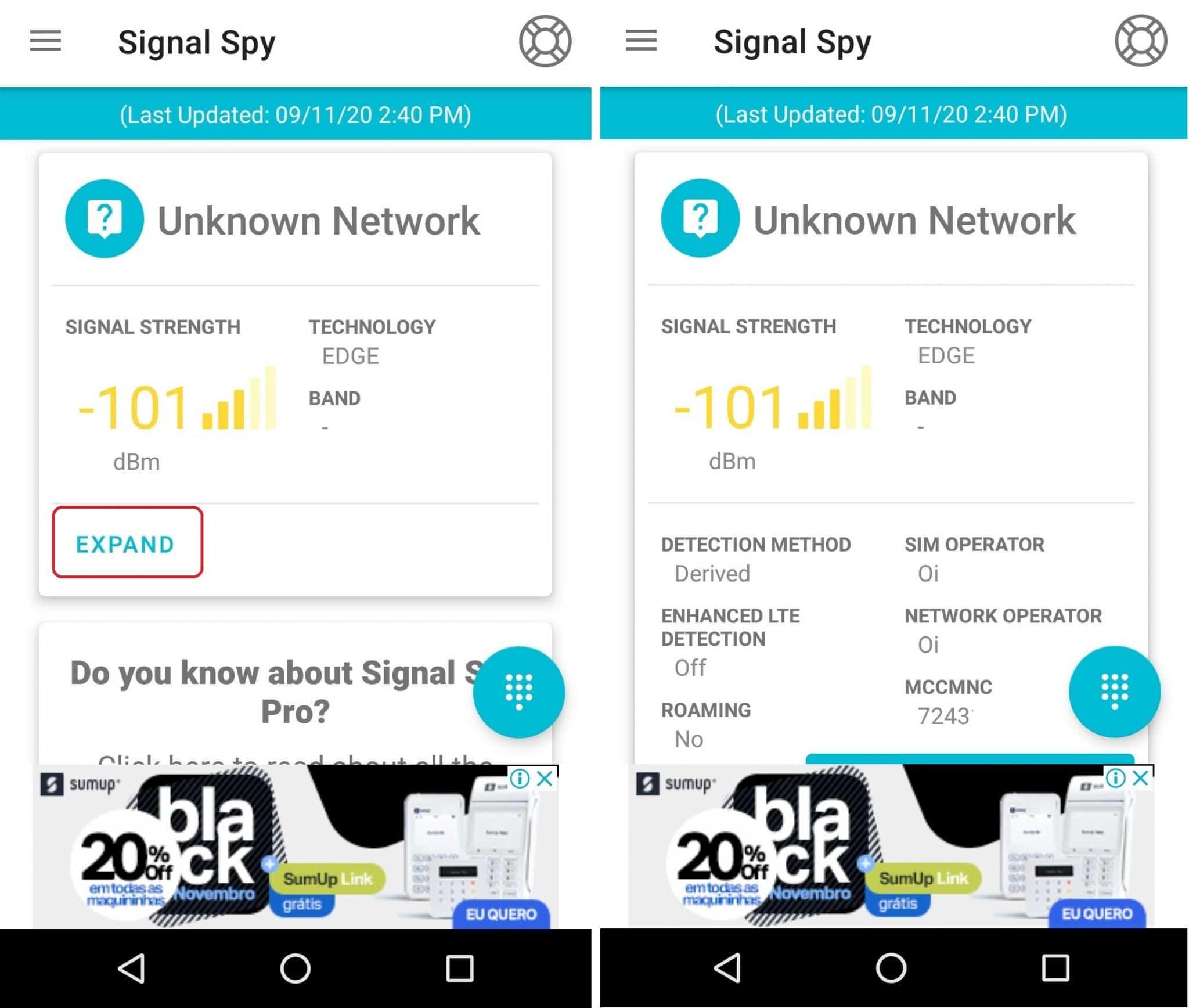 imagem 3 de Como medir a intensidade do sinal 4G-LTE no Android