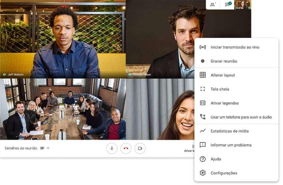 imagem 2 de Melhores aplicativos para fazer videoconferências gratuitamente