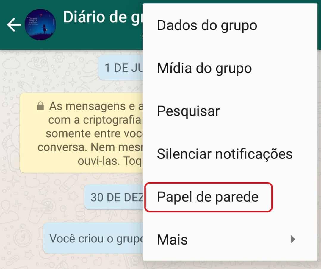 imagem 2 de Melhores wallpapers para personalizar as conversas do WhatsApp