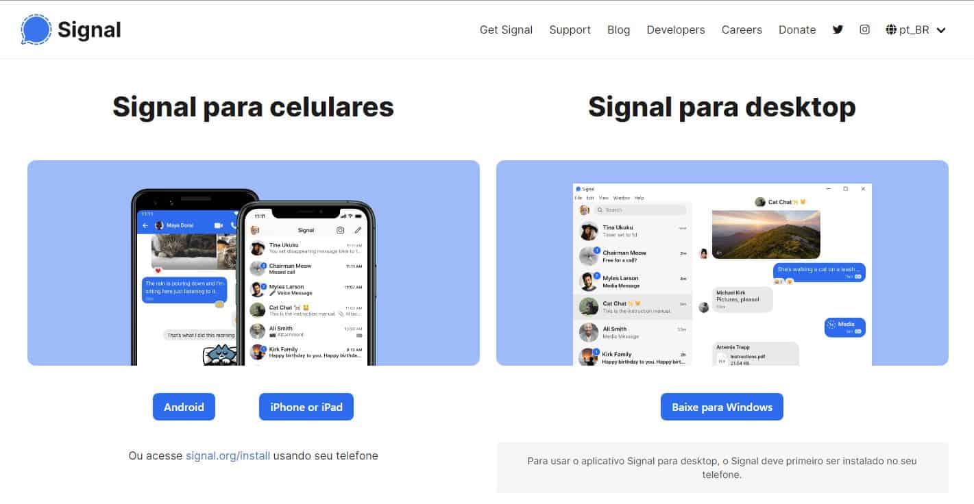 imagem 2 de Como usar o aplicativo Signal no Android