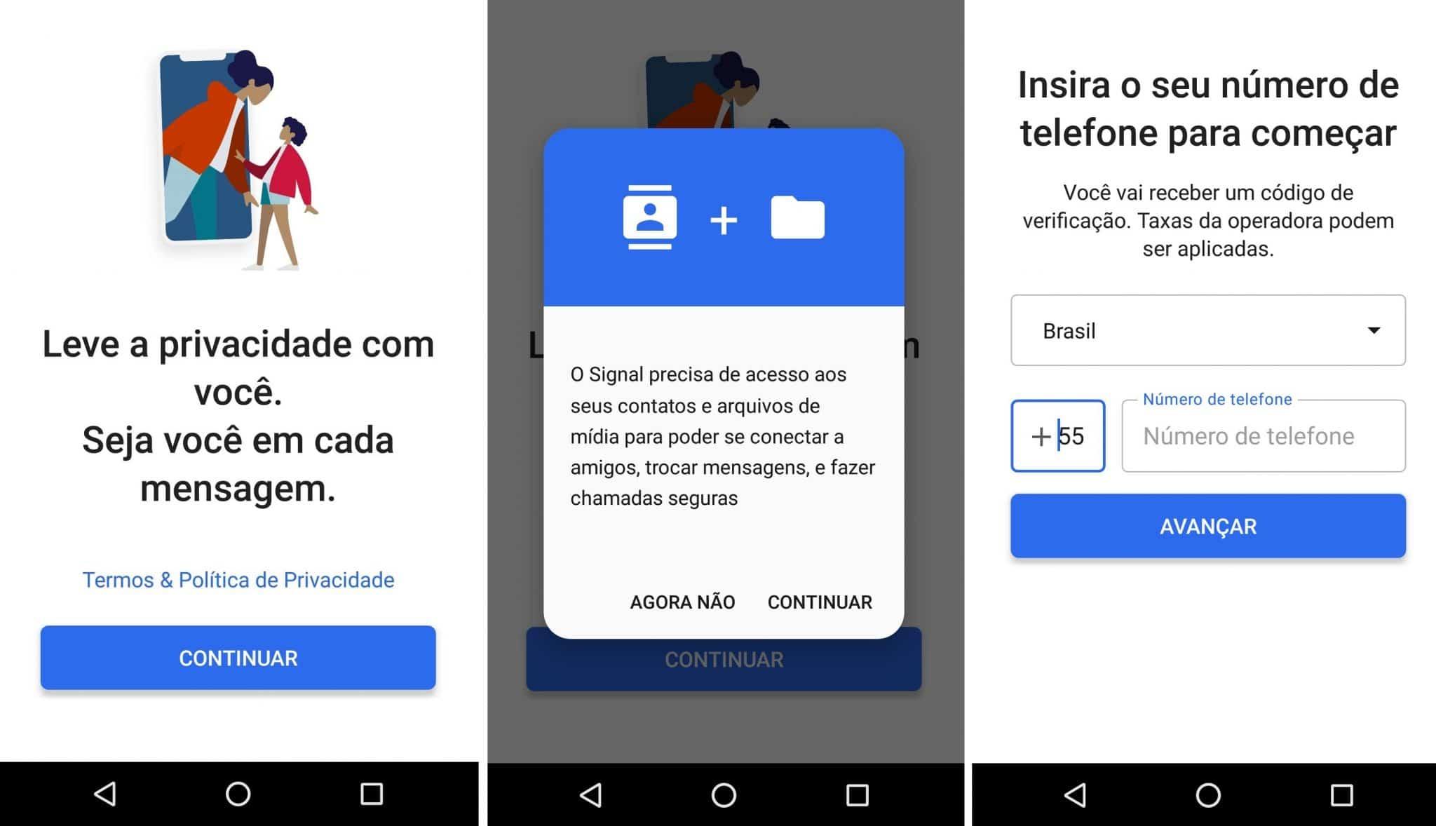 imagem 3 de Como usar o aplicativo Signal no Android