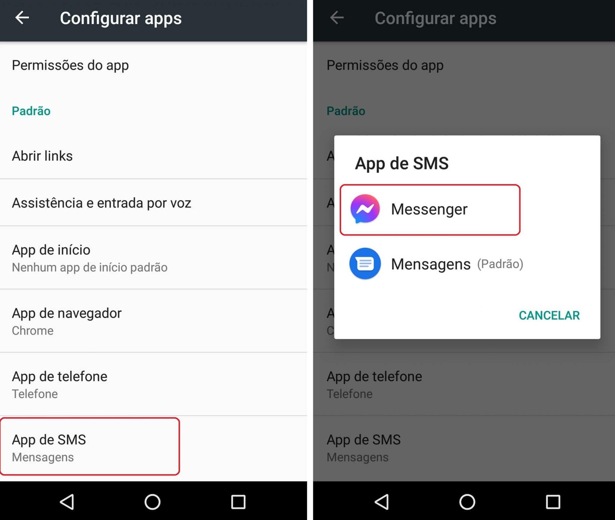imagem 5 de Como ativar e desativar a função de SMS no Facebook Messenger