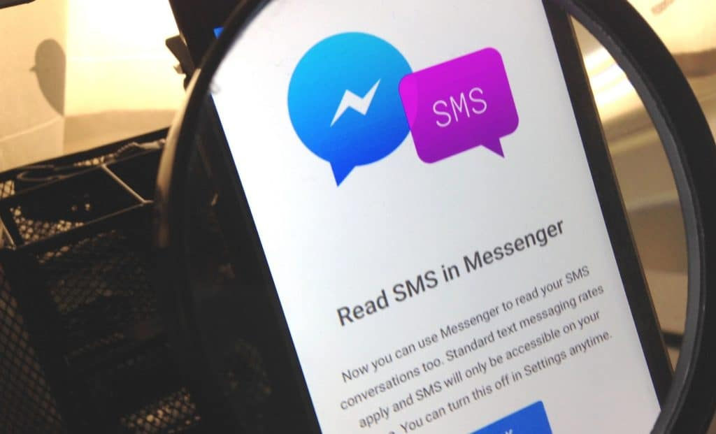 Como ativar e desativar a função de SMS no Facebook Messenger