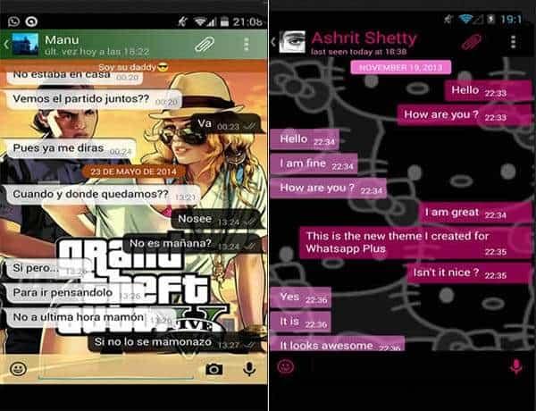 imagem 2 de WhatsApp Plus o que é e como se diferencia do WhatsApp