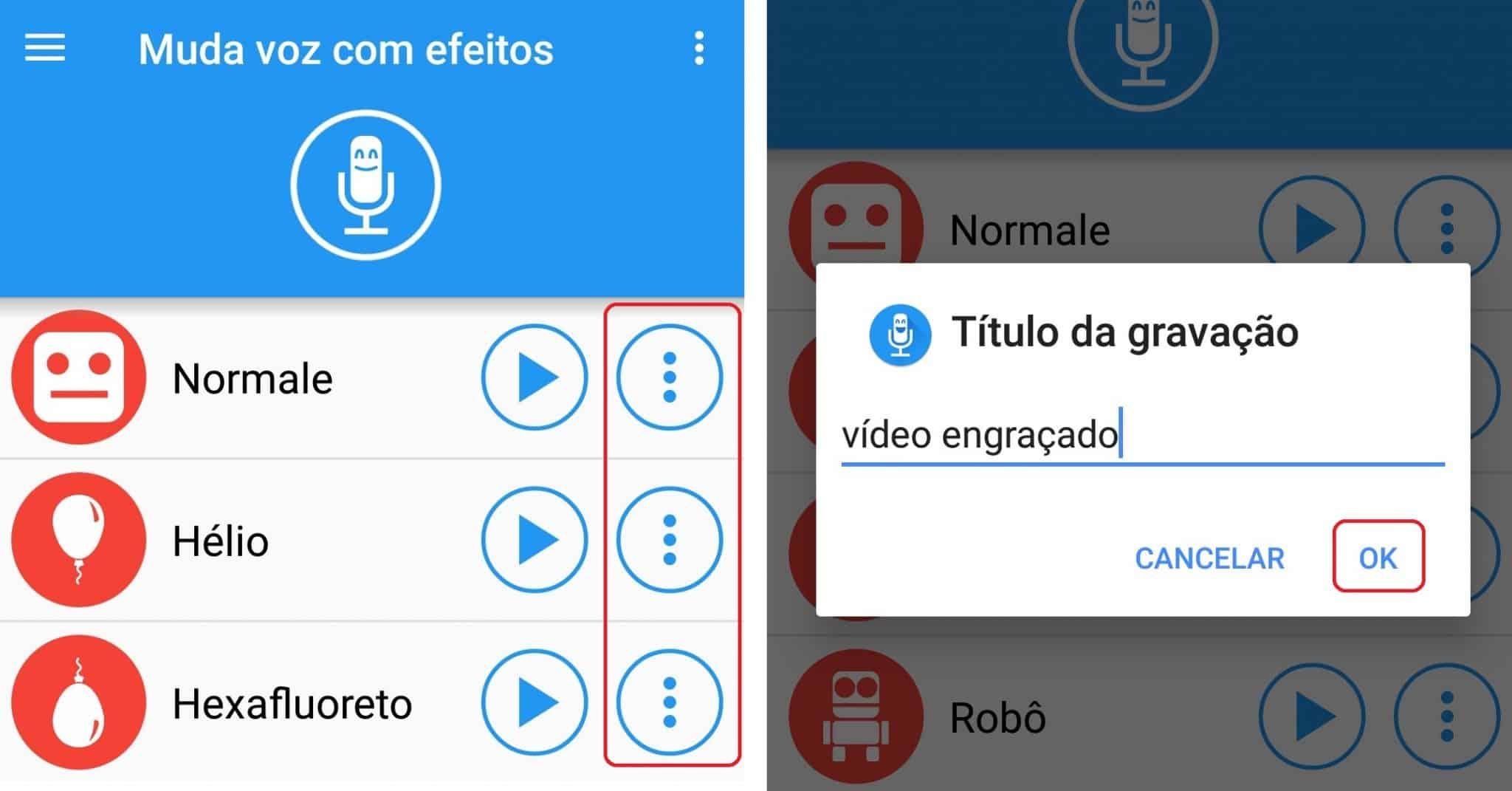 imagem 7 de Como modificar sua voz nos áudios do WhatsApp