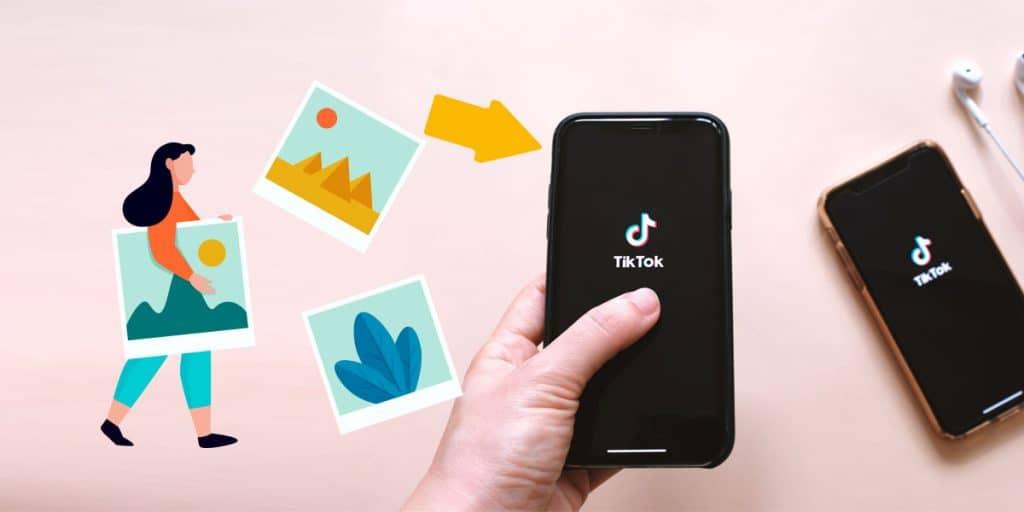 Como criar um slideshow no TikTok