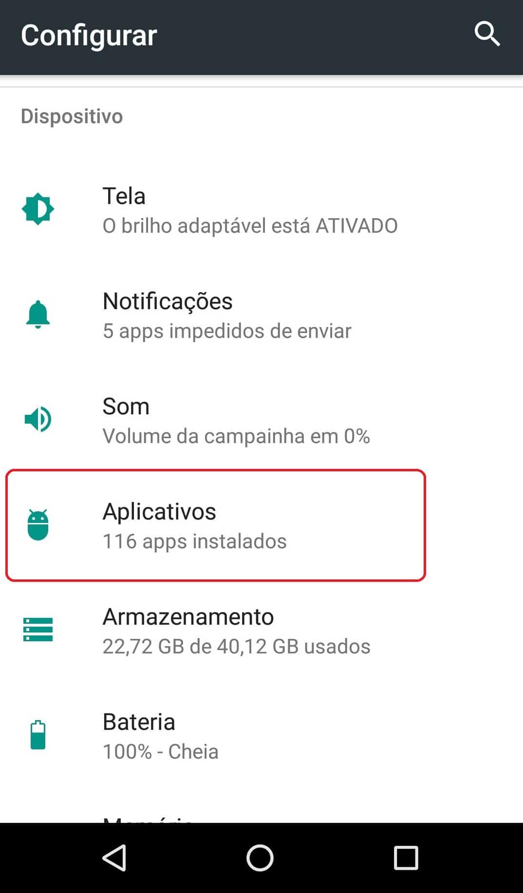 imagem 3 de Como configurar o aplicativo de SMS padrão do Android