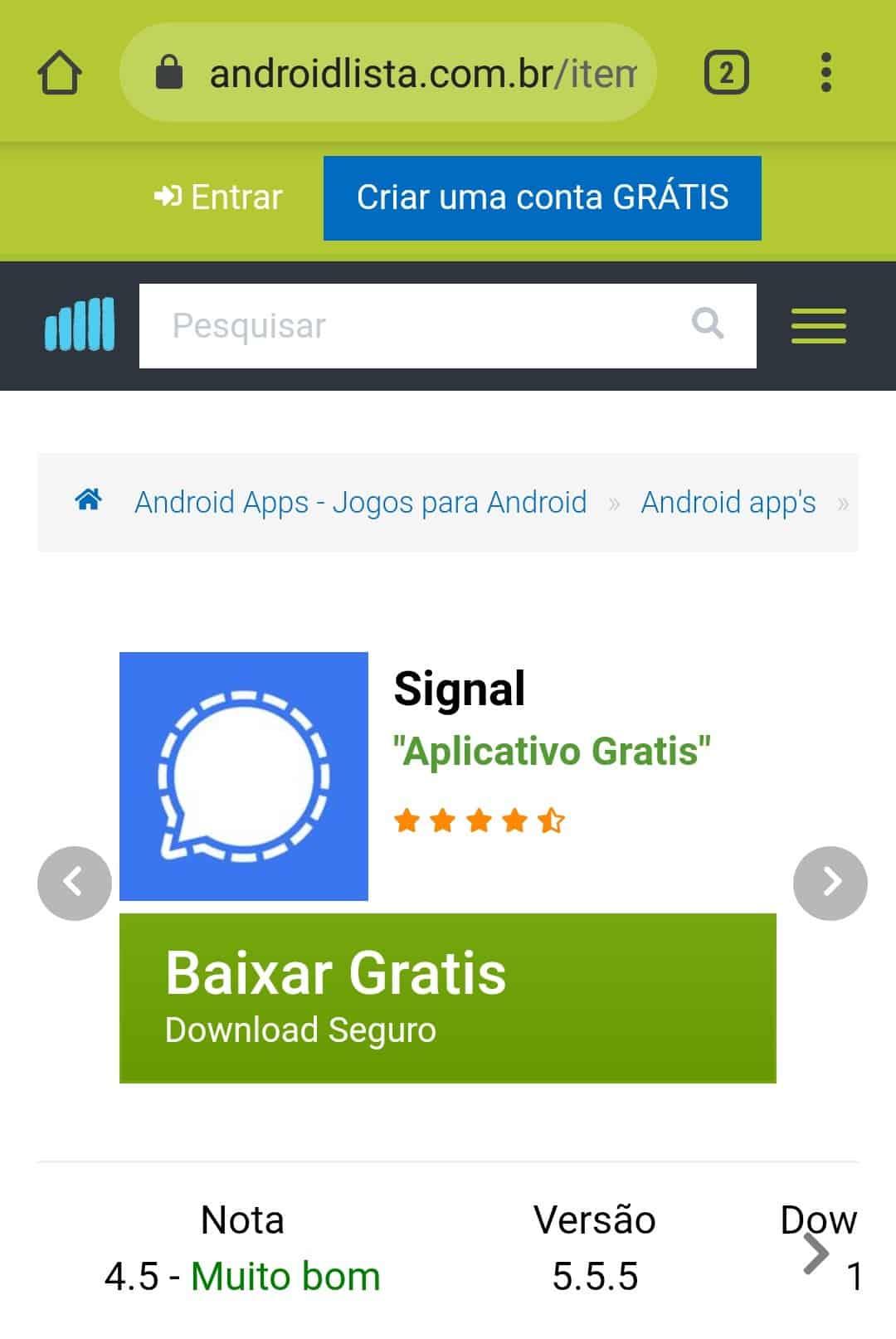 imagem 2 de Como configurar o aplicativo de SMS padrão do Android