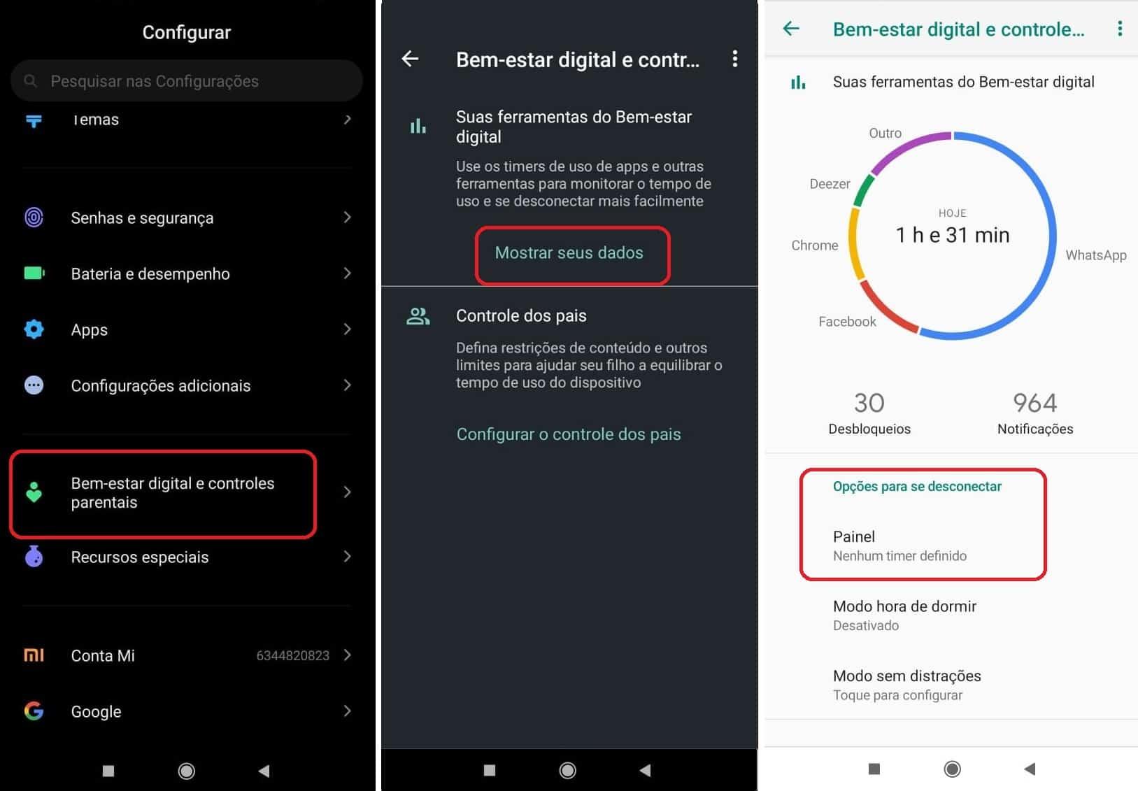 imagem 2 de Como limitar o tempo de uso, do WhatsApp, TikTok, YouTube e outros apps