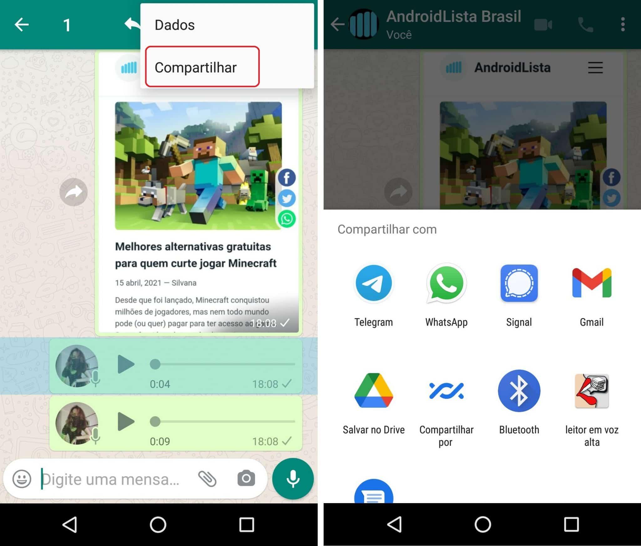 imagem 5 de Como salvar os áudios do WhatsApp no PC ou Android