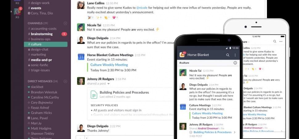 imagem 2 de O que é Slack e como usá-lo no Android