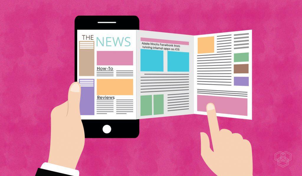 Acompanhe as notícias através dos melhores aplicativos para Android