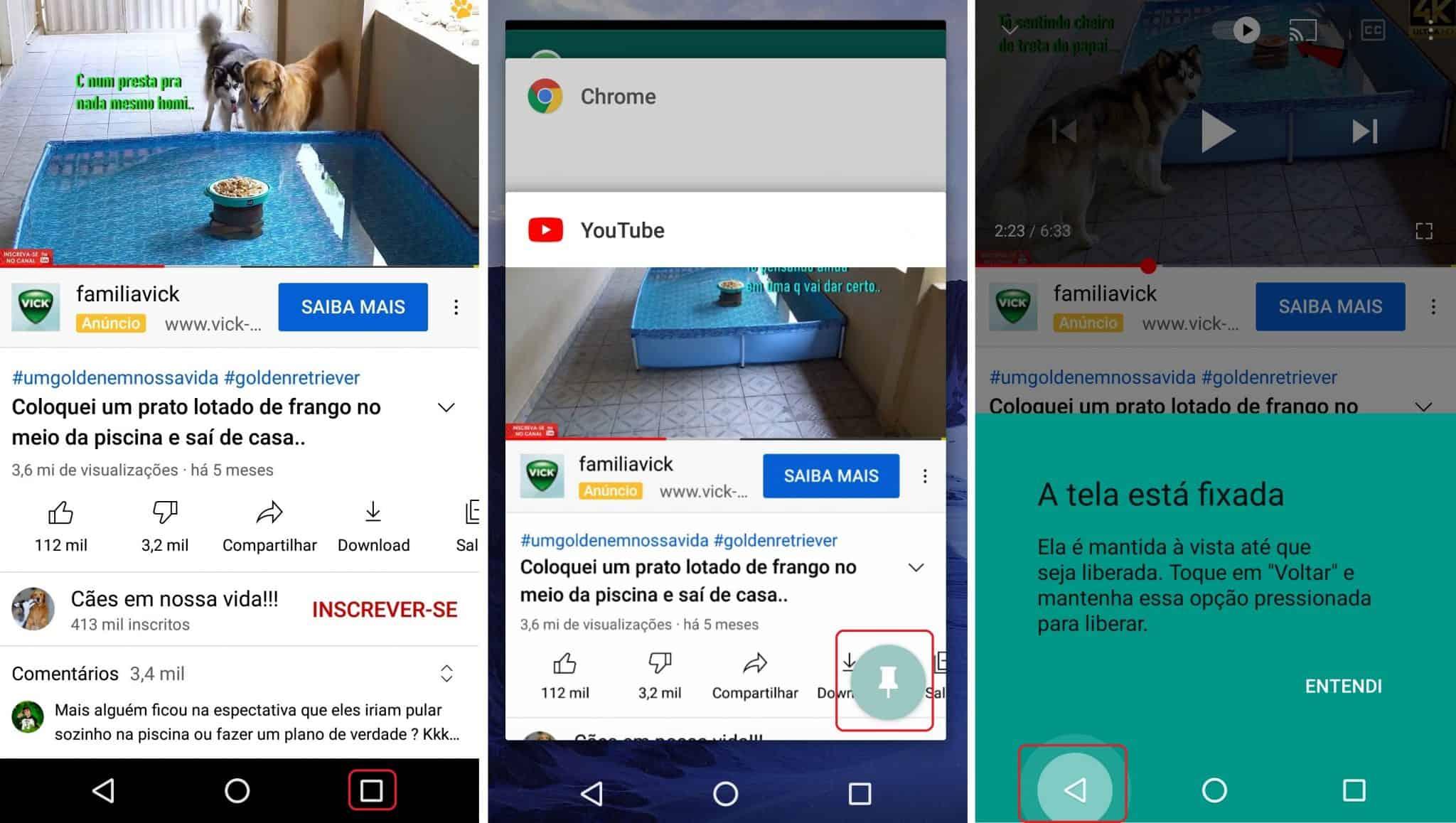 imagem 3 de Como bloquear o touch screen do Android durante a reprodução dos vídeos