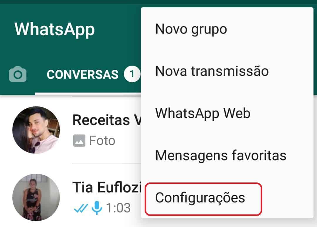 imagem 3 de WhatsApp como manter as conversas arquivadas permanentemente