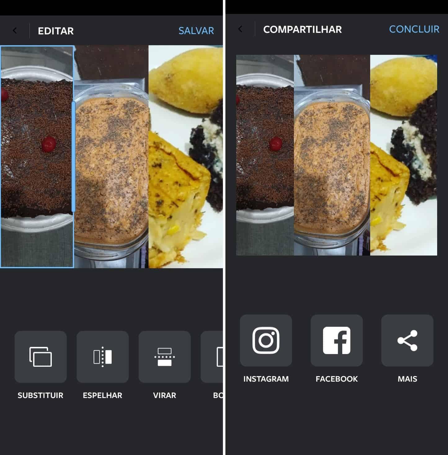 imagem 4 de Como criar colagens com fotos no Instagram e Facebook