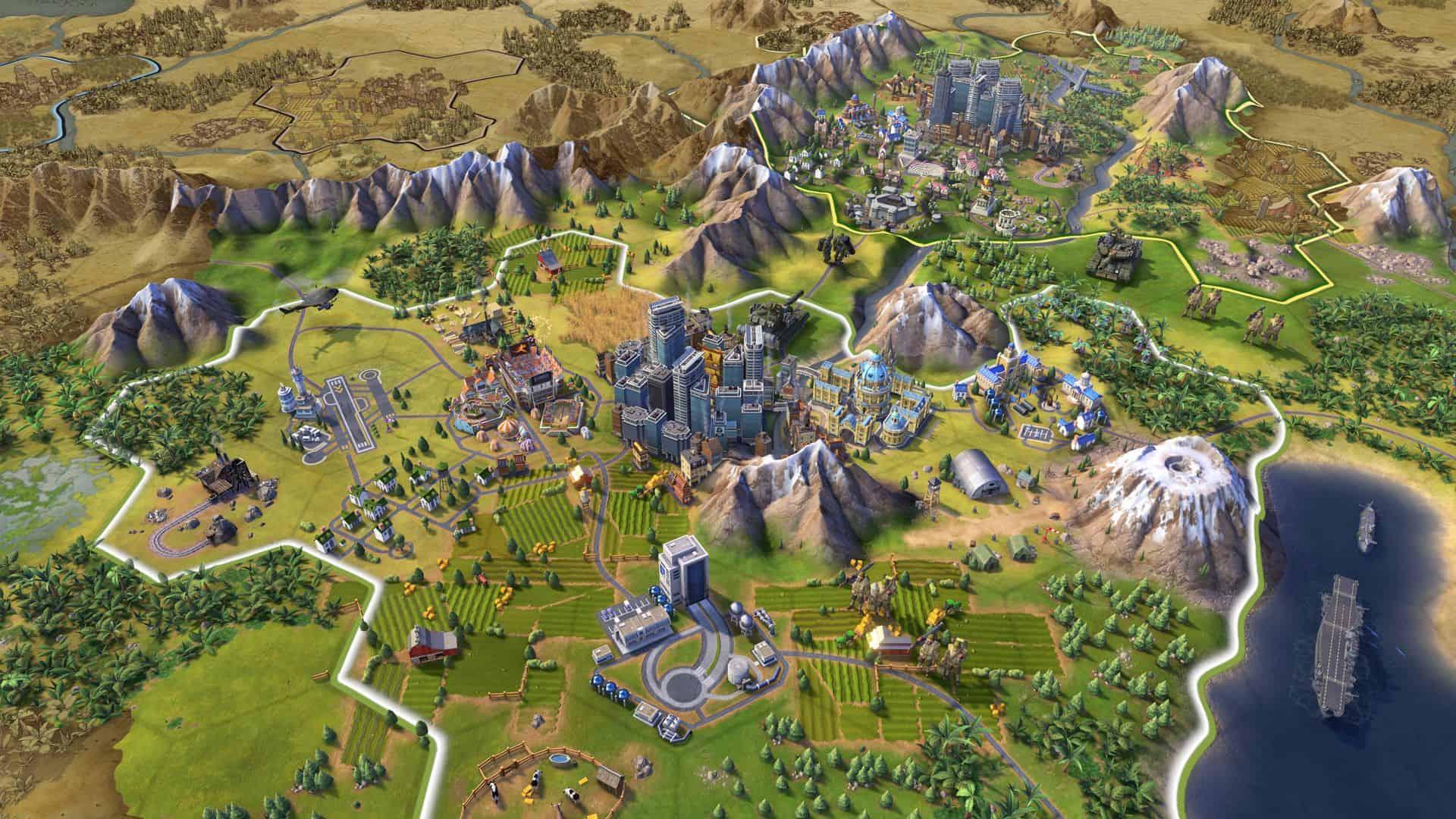 imagem 1 de Melhores jogos de estratégia parecidos com Civilization