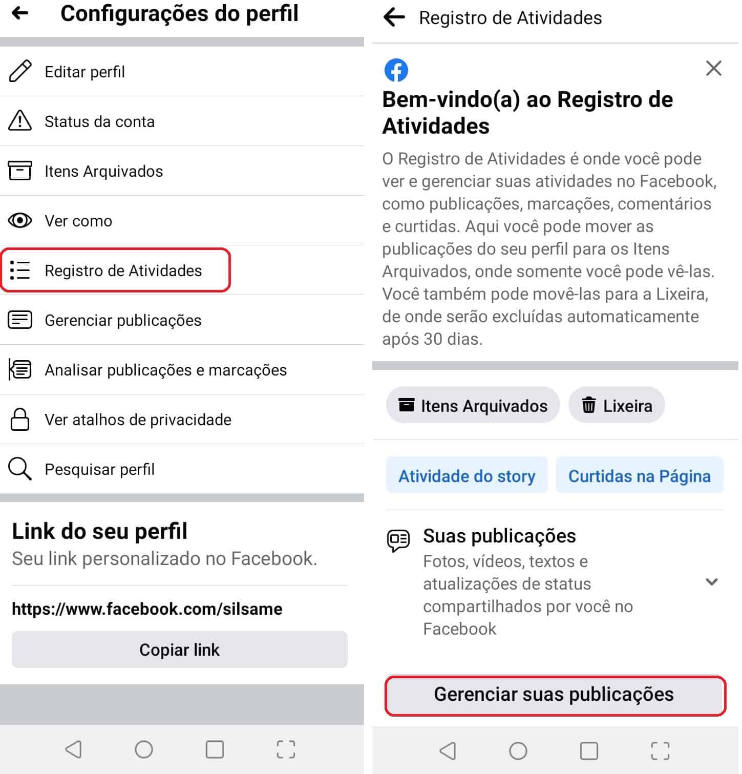 imagem 3 de Facebook como excluir várias publicações de uma vez