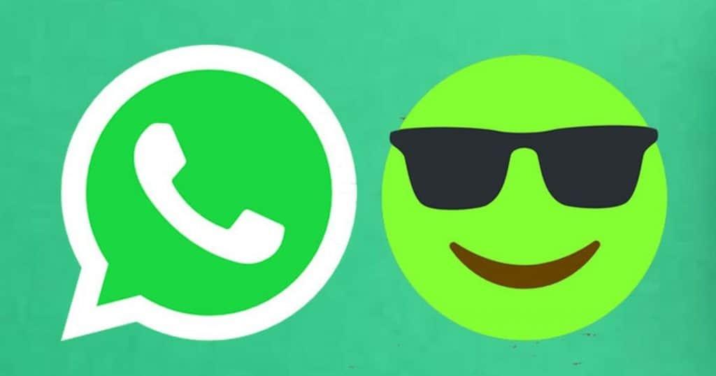 Como mudar a cor dos emojis no WhasApp