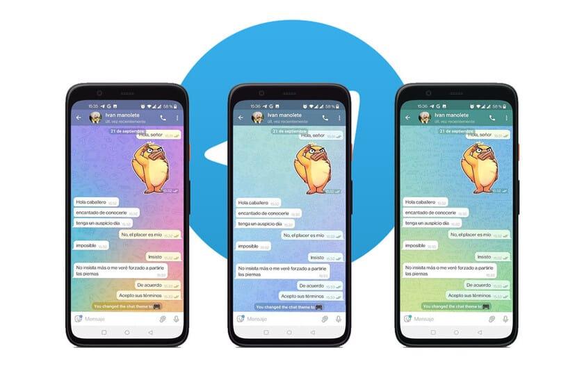 Como usar temas diferentes para cada conversa no Telegram