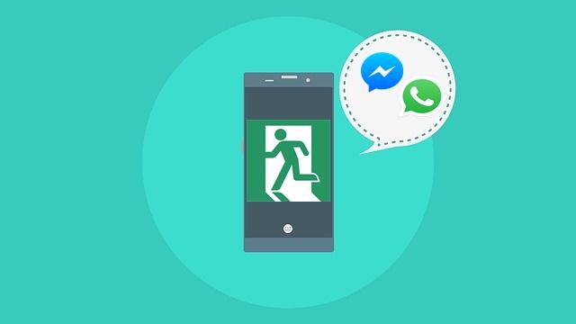 image of 페이스북과 왓츠앱 그룹 대화방에서 알림 없이 나가는 방법1