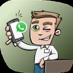연락처에 없는 사람에게 Whatsapp으로 메시지 보내기