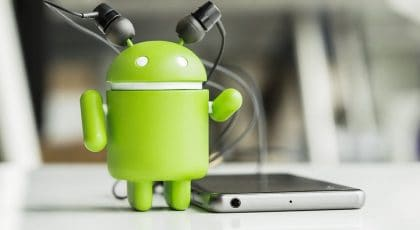 image-of-android-listening-to-music-earphone