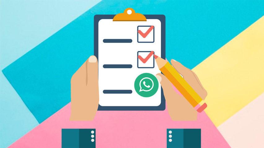 왓츠앱 꿀팁: 왓츠앱에서 설문조사를 진행하는 방법