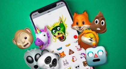 image of android whatsapp animoji memoji