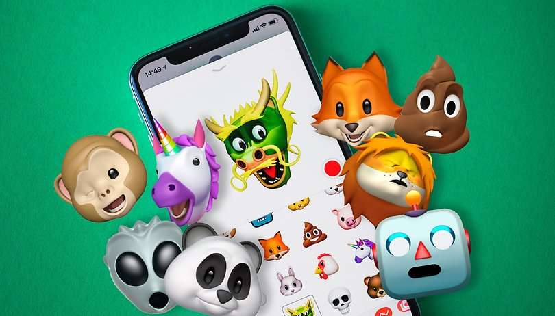 image of android whatsapp animoji memoji