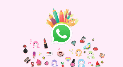 Image 왓츠앱 스티커를 만드는 2020년 최고의 안드로이드 앱 5가지