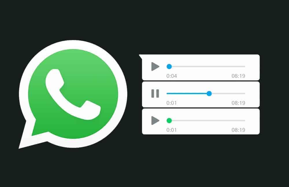 왓츠앱 음성 메시지 목소리 변경하는 방법