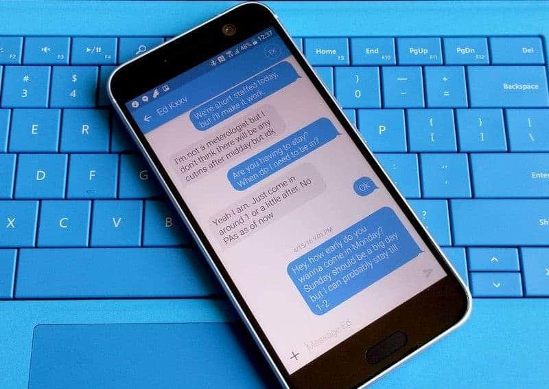 안드로이드 꿀팁: 기본 문자 메시지 앱 설정하기