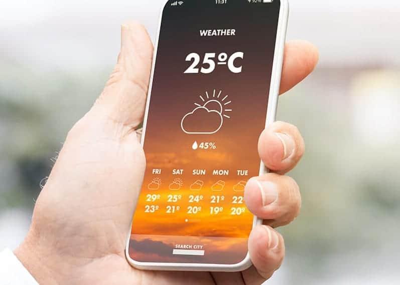 안드로이드용 날씨 앱 & 위젯 BEST 5