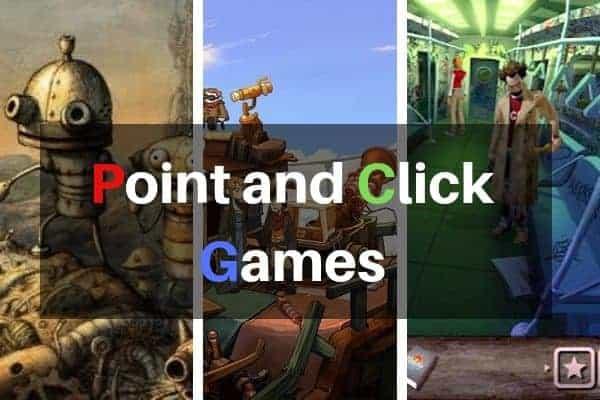 안드로이드를 위한 최고의 포인트 앤 클릭 게임 BEST 5