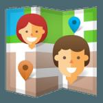 Androidを使って、友だちや家族の居場所を確認する方法