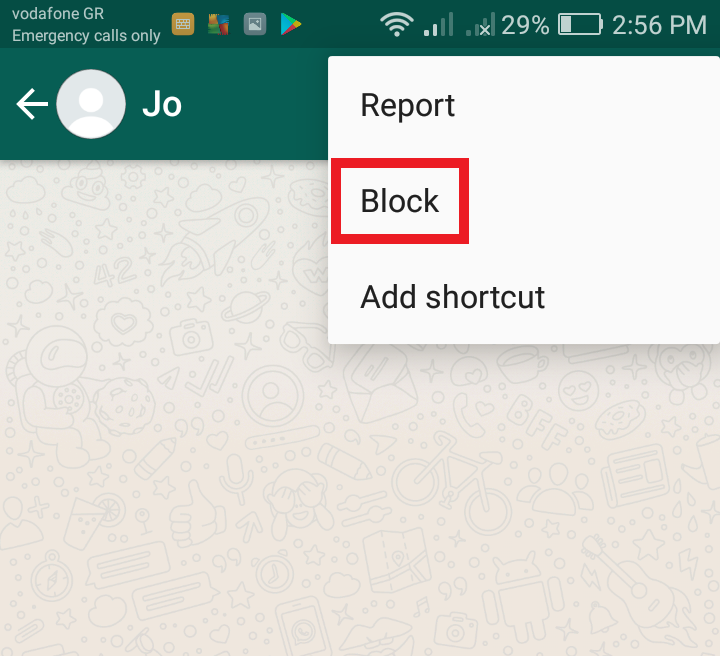 Image 2 WhatsAppで連絡先をブロックする方法