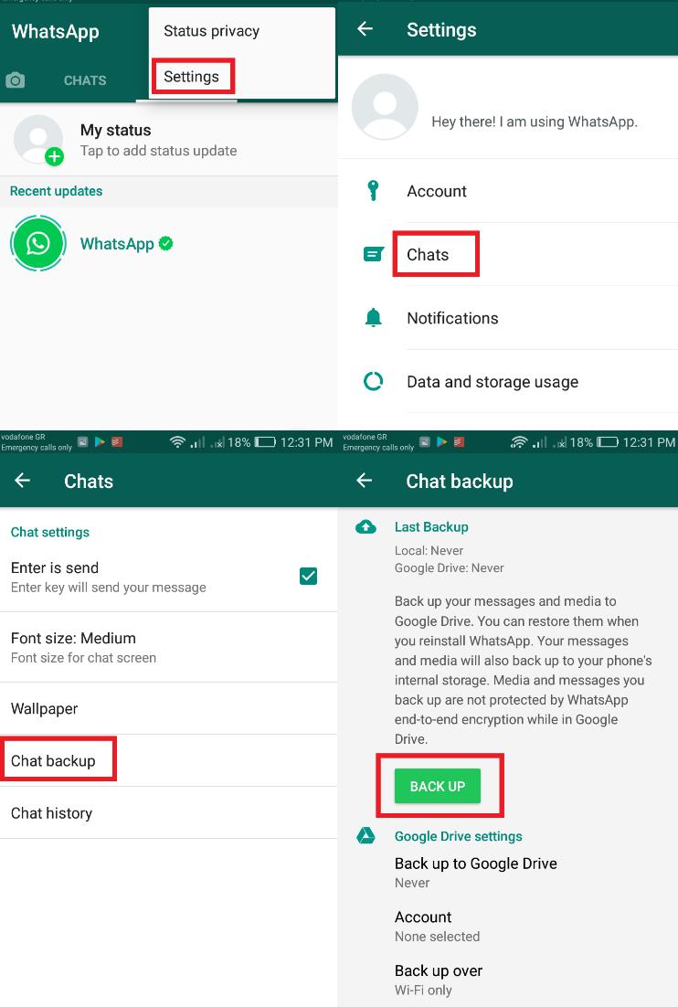 Image 3 新しいAndroidスマートフォンに古いWhatsAppのチャットを転送する方法