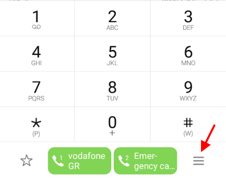Image 2 Androidで自分の番号を隠す方法