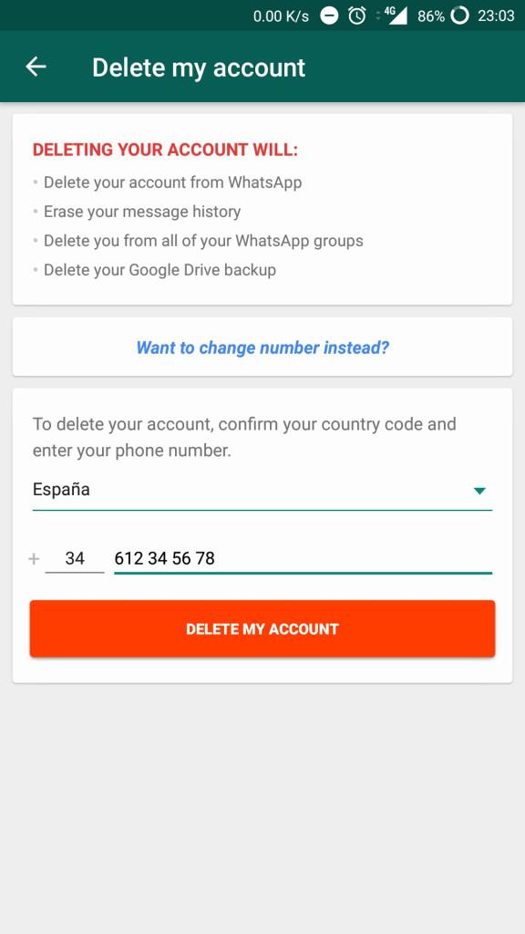 Image 6 WhatsAppのアカウントを無効にする、あるいは削除する方法とは