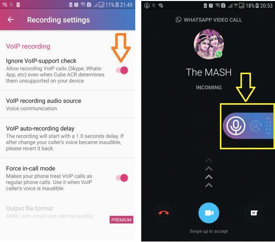 Image 2 WhatsApp の通話をAndroidで録音するには:Cube Call Recorder ACR, DU Recorder:画面キャプチャアプリを使おう