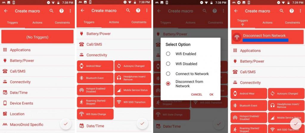 Image 1 Androidデバイスが自宅のWi-Fiと接続が切れた時に通知を受け取るには:MacroDroidを使おう