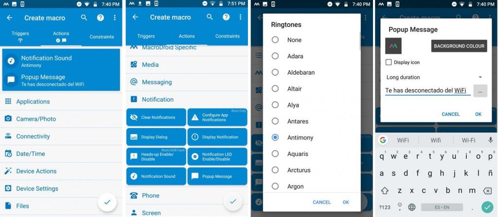 Image 2 Androidデバイスが自宅のWi-Fiと接続が切れた時に通知を受け取るには:MacroDroidを使おう