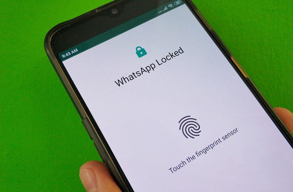 WhatsAppで指紋アンロック機能を有効にする方法
