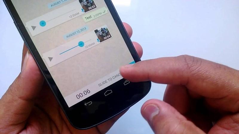 こっそりとWhatsAppのオーディオメッセージを聴く方法
