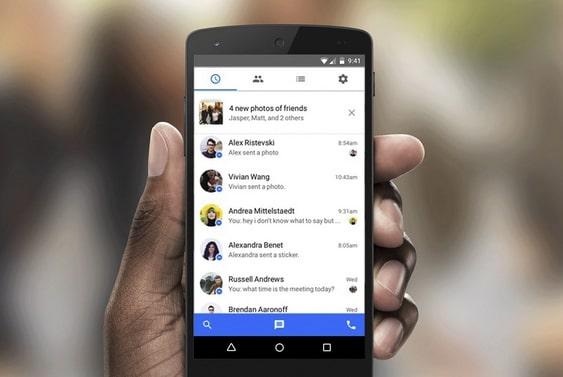 Androidに隠されたFacebookメッセージを見つける方法