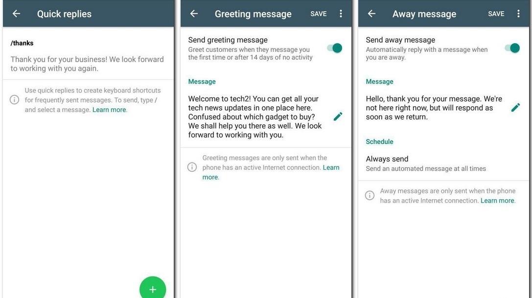 WhatsApp-Business-Quick-Replies-Away-Message